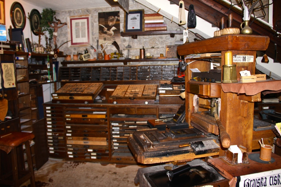 The printing shop