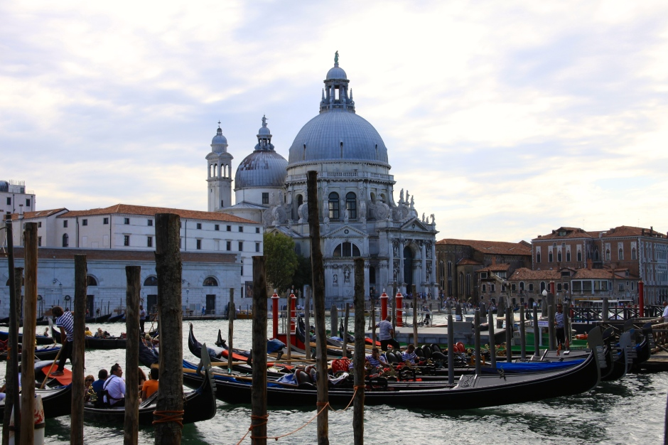 Basilica di Santa Maria, viewed from San Marco