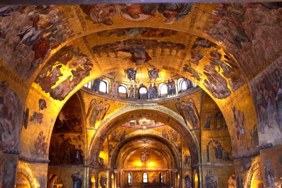Inside the Basilica