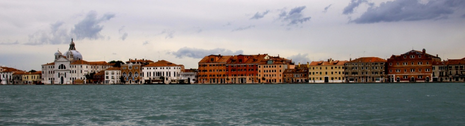 A view of the Giudecca shoreline, taken from Dorsoduro
