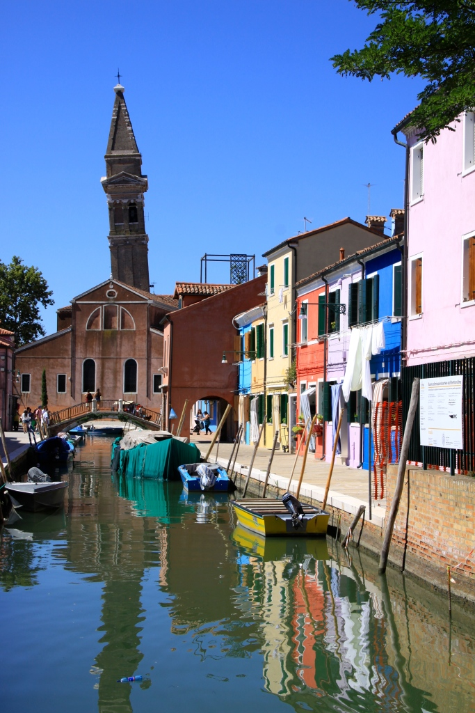 Burano's own leaning tower