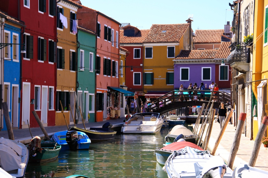 Burano is certainly colourful!