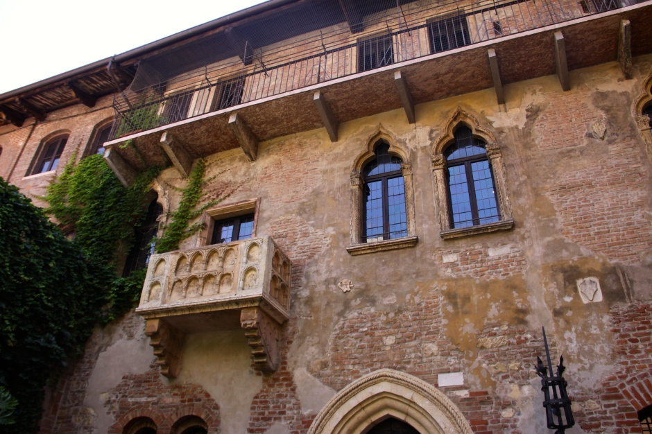 'Juliet's balcony' attached to the museum