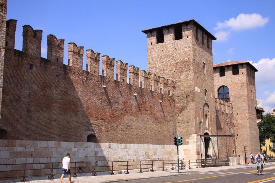 External castle wall