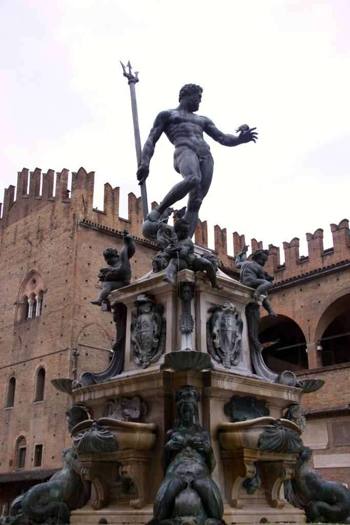 Neptune's Fountain on the Piazza Maggiore
