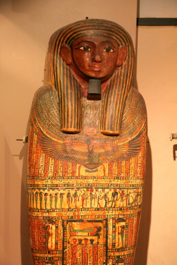 The museum claims that its Egyptian collection is one of the most important in Europe