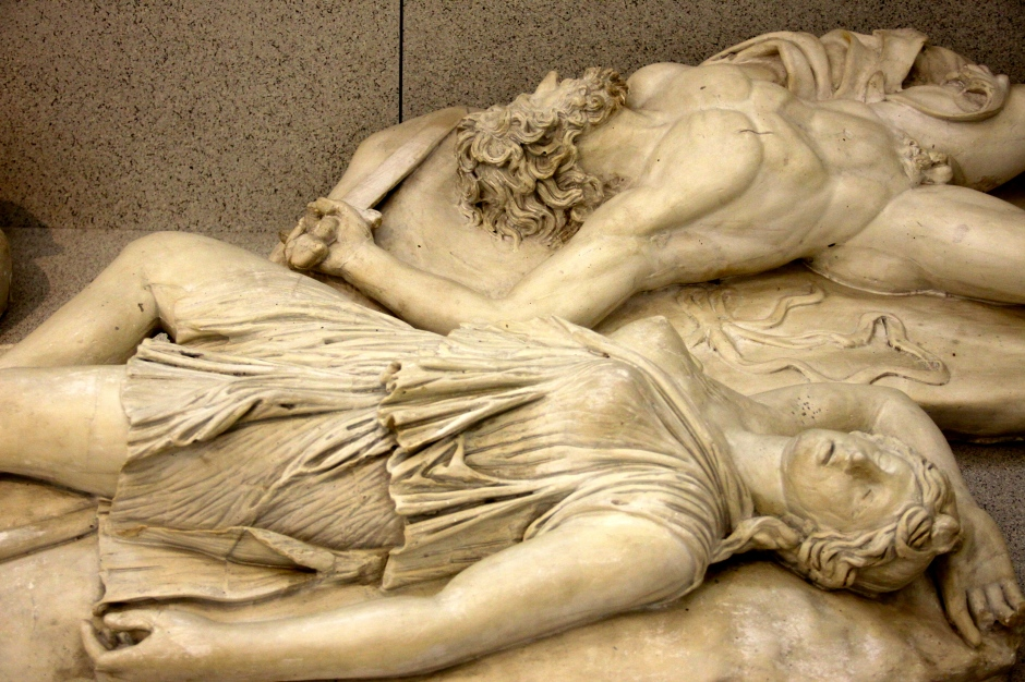 The museum's Plaster Cast Gallery contains plaster copies of famous Greek and Roman sculptures