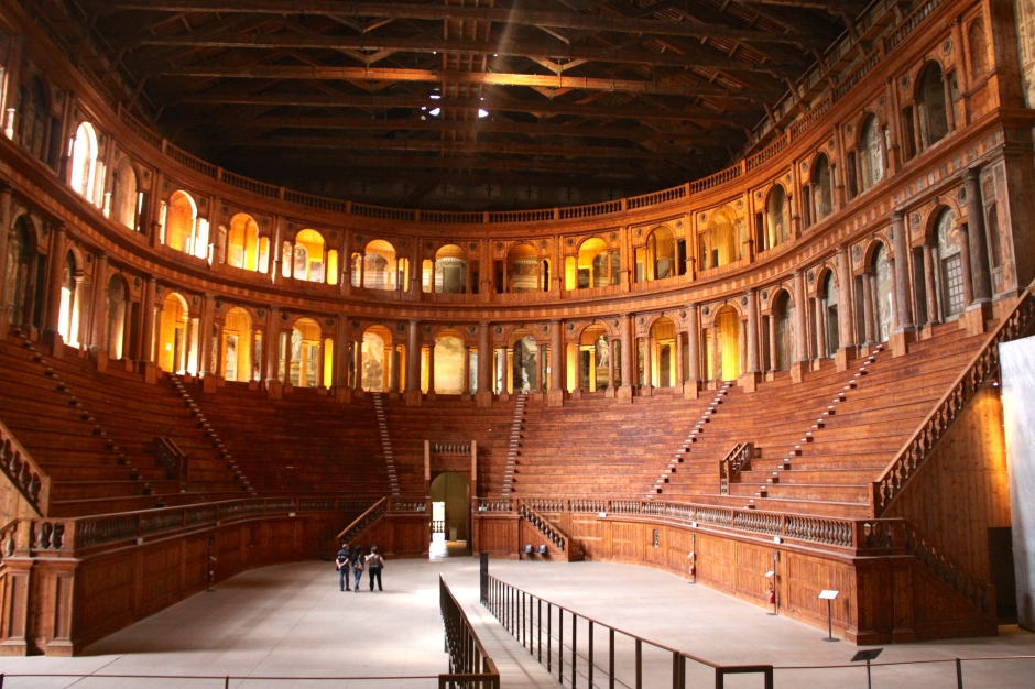 Teatro Farnese - as viewed from the stage