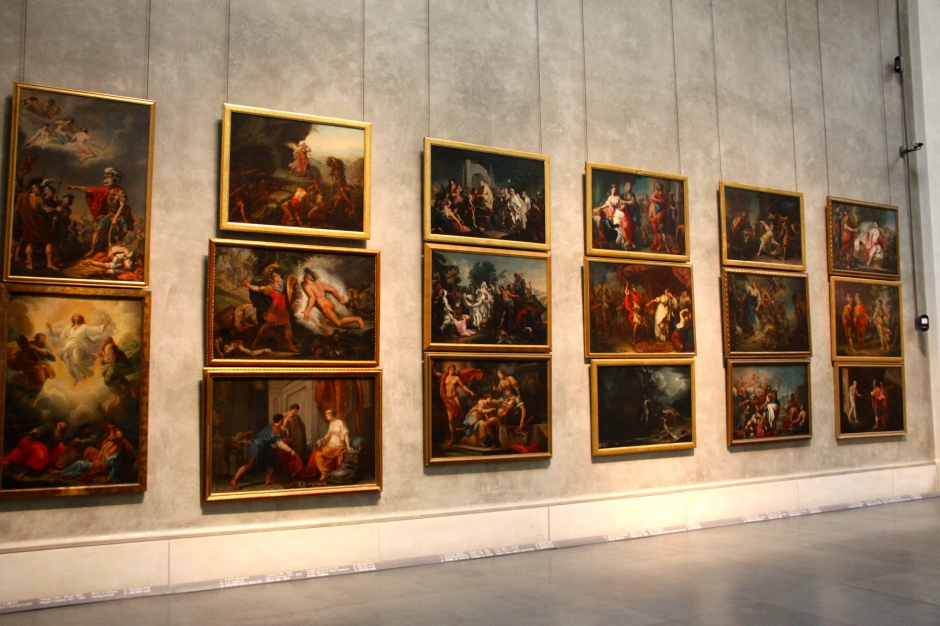 Royal Academy academic essays in the National Gallery