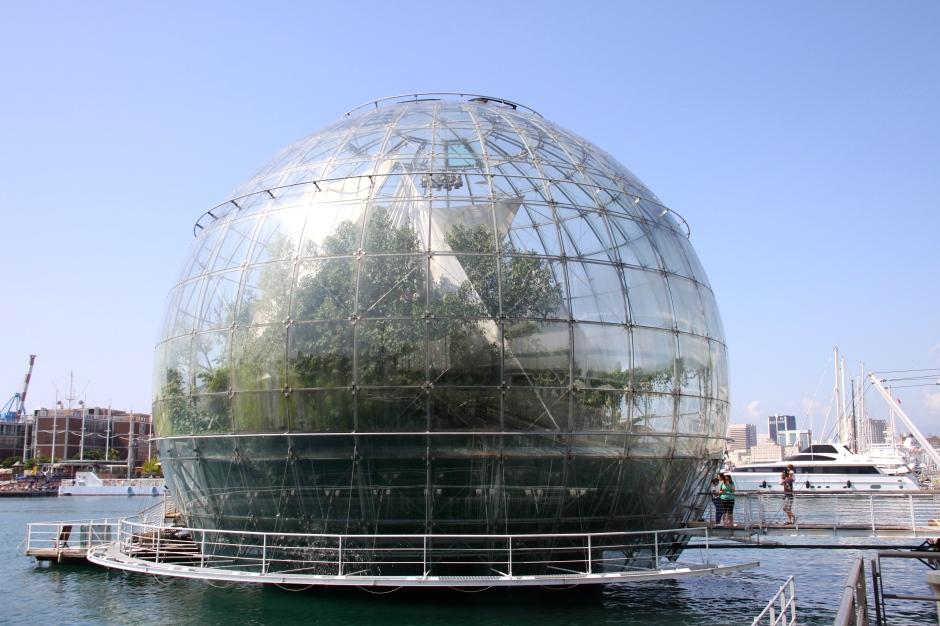 The Biosphere exhibit