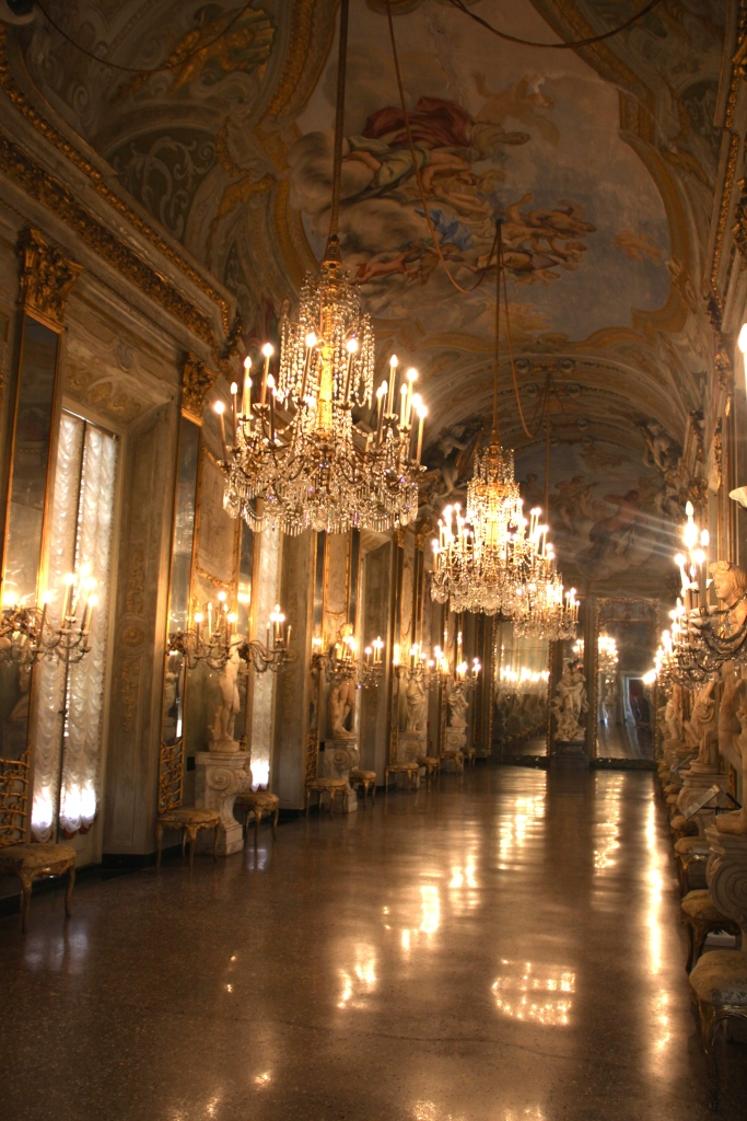 Hall of Mirrors - Palazzo Reale