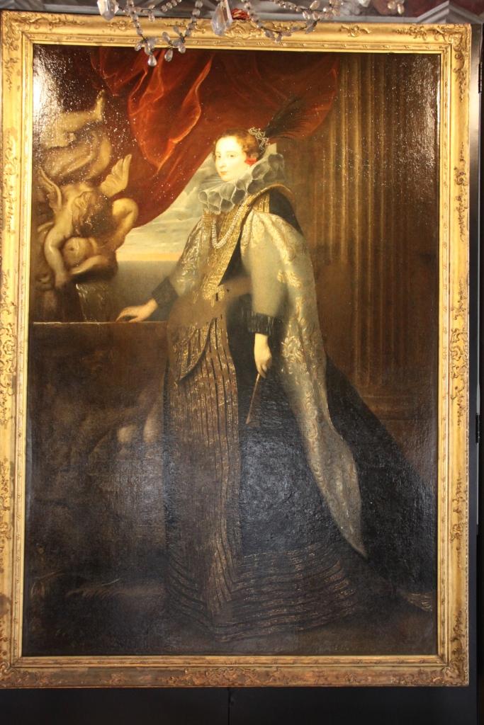 Portrait of Caterina Balbi Durazzo by Van Dyck