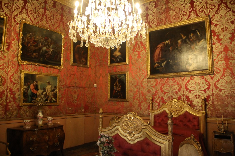One of the bedrooms - Palazzo Reale