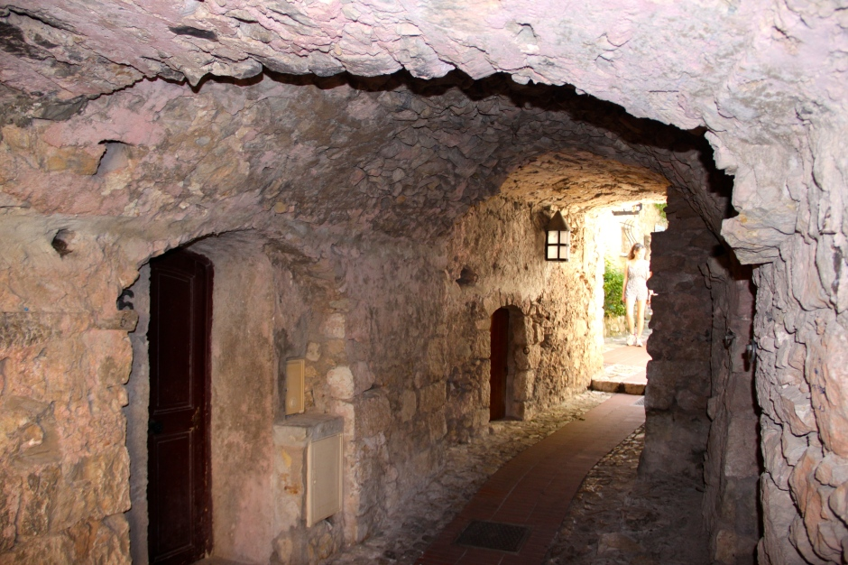 Medieval tunnel in Eze