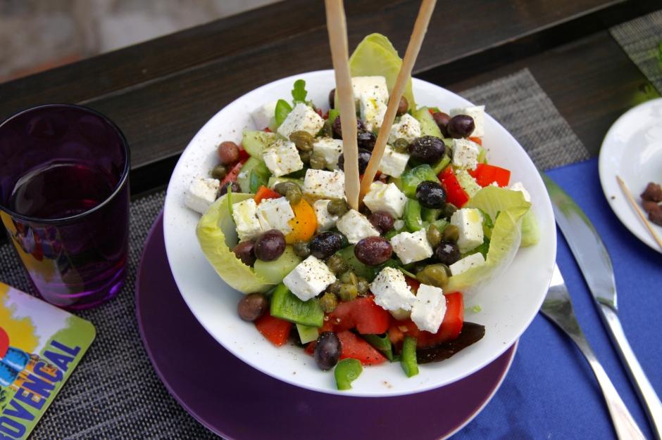 My Greek salad