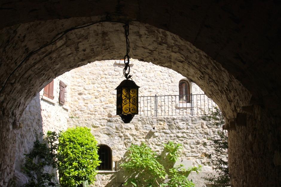Medieval archway in Eze Village