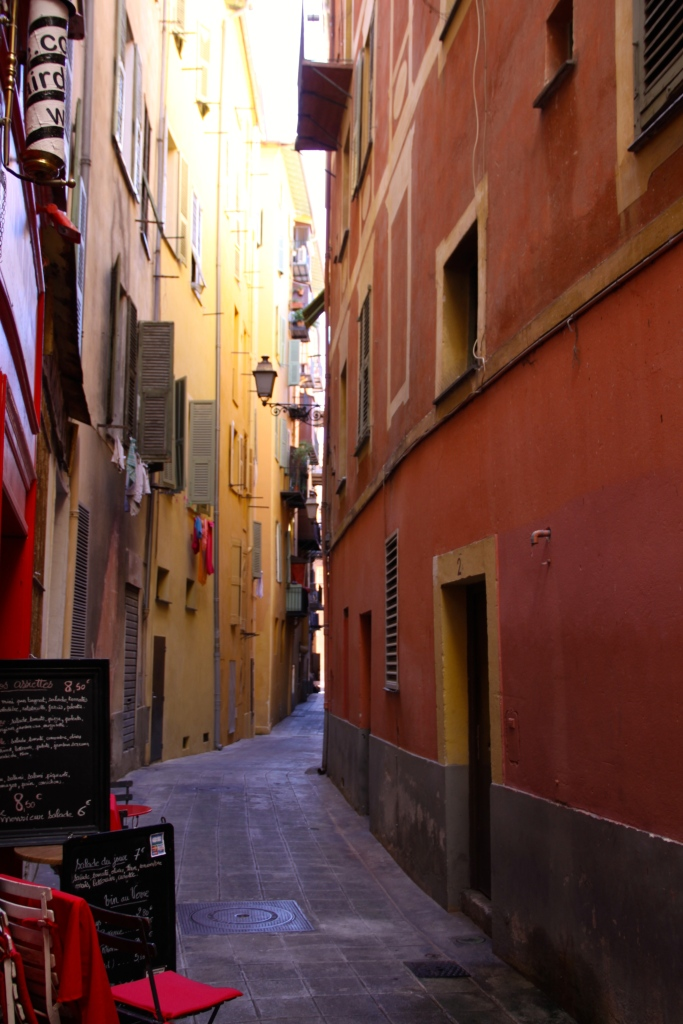 Narrow lane in the old town