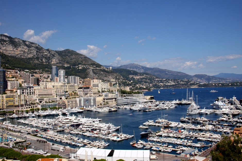 The harbour in Monte Carlo