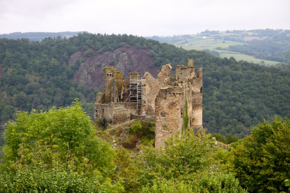 Ruins of the Chatueu Rocher