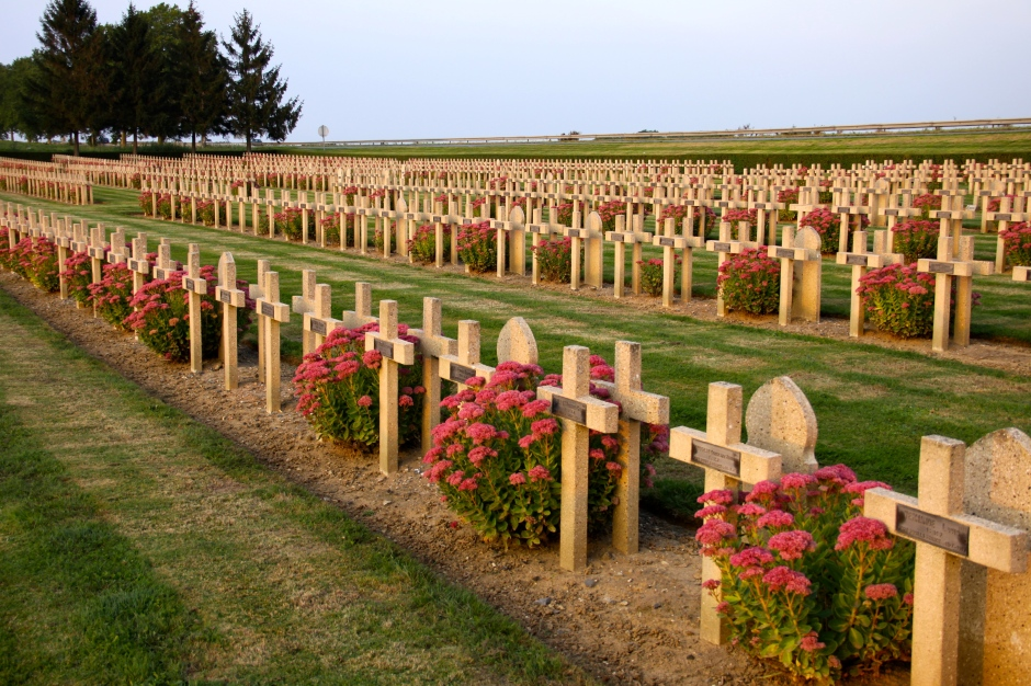 French graves at Vauxbuin
