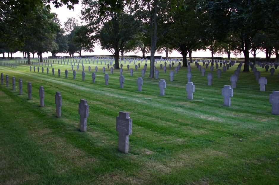 German graves at Vauxbuin