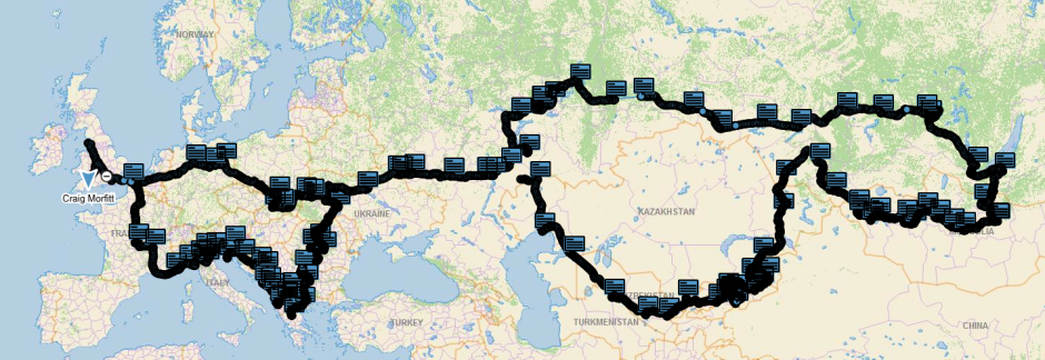 The complete route