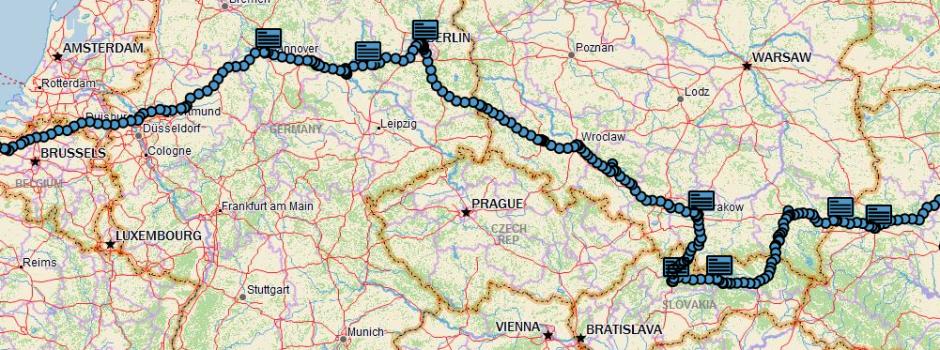 The route to Ukraine