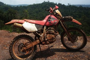 The standard tour bike - Honda XR250R