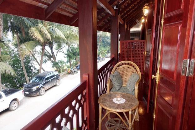Balcony to my room