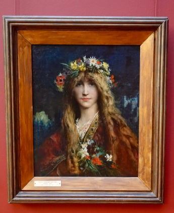 """Ophelia"" by Jules-Elie Delaunay, 1882"