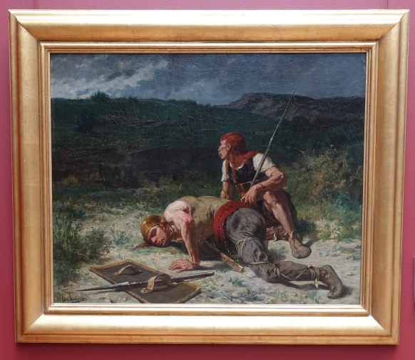 """The Gaulish Scouts"" by Evariste Luminais"