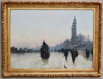 """The Quays of Bordeaux"" by Alfred Smith, 1892"
