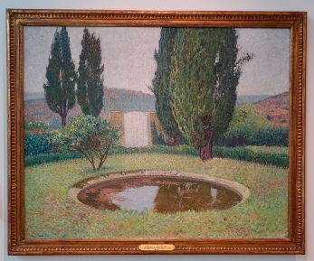 """The Pond at Marquayrol"" by Henri Martin, after 1899"