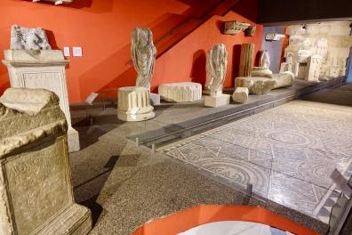 Part of Roman display