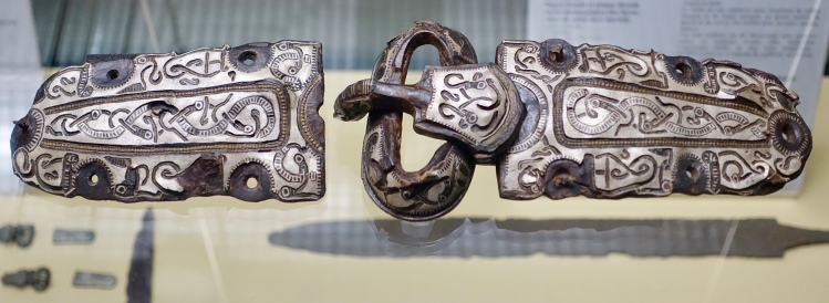 7th century belt decoration and buckle