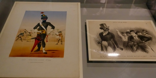 Examples of racist caricatures