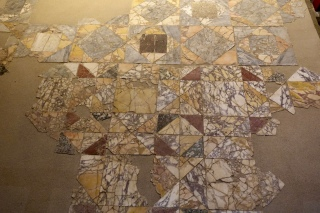 Opus sectile pavement, 1AD