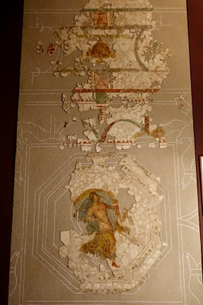 Remnants of mosaic