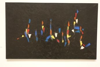 Night by Antonio Bandeira, 1958