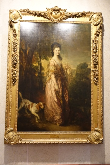 Portrait of Mrs Lowndes-Stone by Thomas Gainsborough