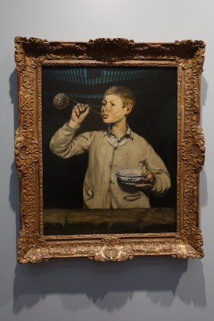 Boy Blowing Bubbles by Edouard Manet