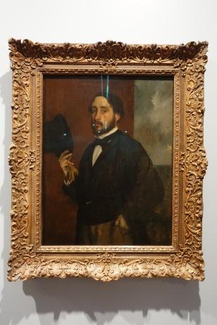 Self portrait by Edgar Degas