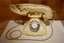 White Aphrodisiac Telephone by Salvadore Dalii