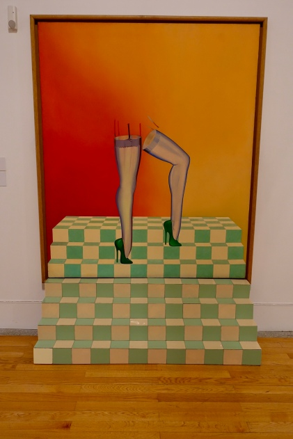 La Sheer by Allen Jones and Epiphany by Richard Hamilton