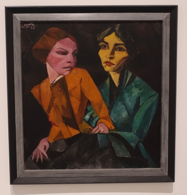 Two Friends by Lasar Segall, 1917-1918