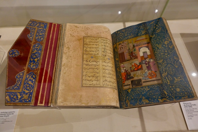 Manuscript of the Divan, 1315-1390