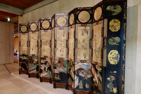 'Coromandel' screen, China 17th century