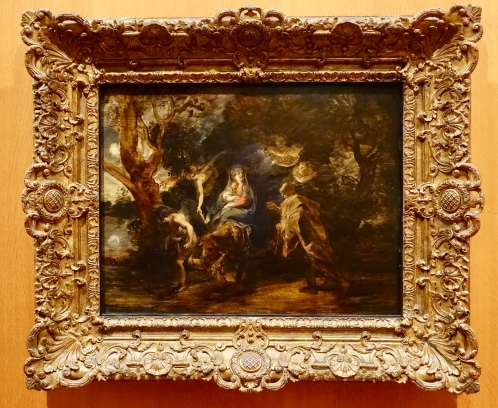 Flight into Egypt by Peter Paul Rubens