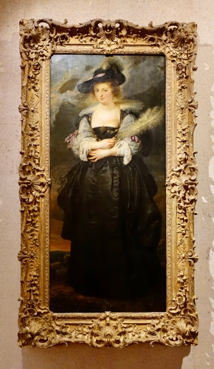 Portrait of Helena Fourment by Peter Paul Rubens