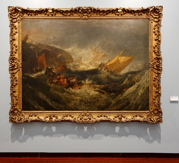 The Wreck of a Transport Ship by Joseph Mallord William Turner